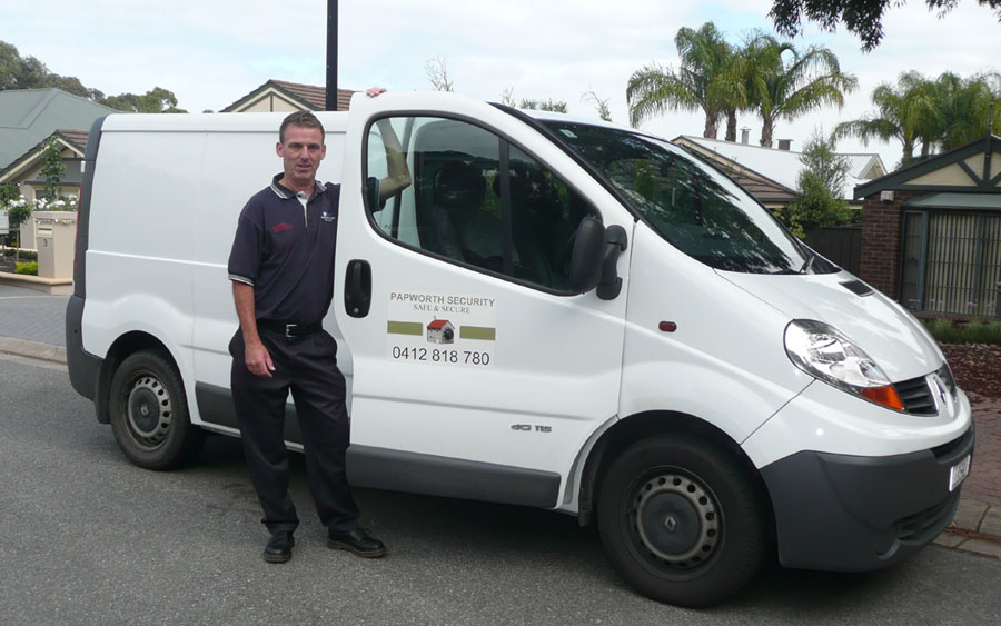 Papworth Adelaide Home and Business Security Installations
